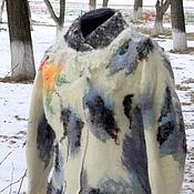 """Валяное пальто    """"Серебряный век-2"""""""