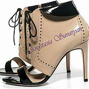 Обувь ручной работы handmade. Livemaster - original item Shoes women`s art 025 ( a work in order ). Handmade.