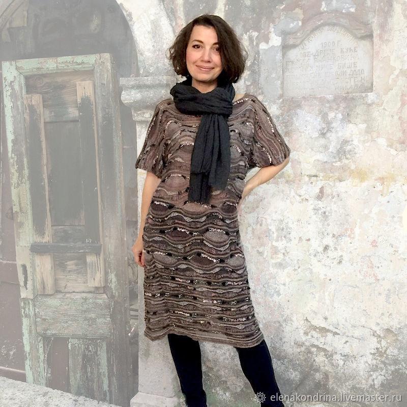 Linen tunic dress 'Traveler', Dresses, Ivanovo,  Фото №1