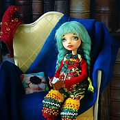 Куклы и игрушки handmade. Livemaster - original item OOAK. Articulated doll Molly. Home gnome.. Handmade.