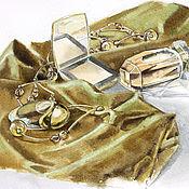 Картины и панно ручной работы. Ярмарка Мастеров - ручная работа Золотой натюрморт. Handmade.