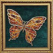 Картины и панно handmade. Livemaster - original item painting with amber