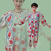 """Одежда ручной работы. Ярмарка Мастеров - ручная работа платье """"Щедрый гранат"""". Handmade."""