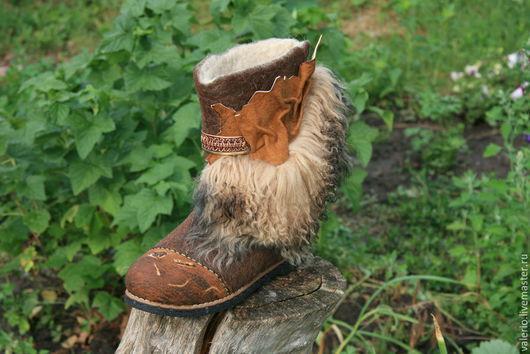 Обувь ручной работы. Ярмарка Мастеров - ручная работа. Купить Гладиатор. Handmade. Коричневый, тапки, тренд, кожа