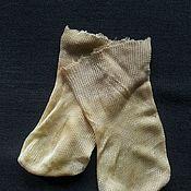 Куклы и игрушки ручной работы. Ярмарка Мастеров - ручная работа Старинные кукольные носочки. Handmade.