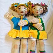 Куклы и игрушки ручной работы. Ярмарка Мастеров - ручная работа Девочки подружки.. Handmade.
