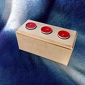 Материалы для творчества ручной работы. Ярмарка Мастеров - ручная работа подсвечник на три свечи. Handmade.