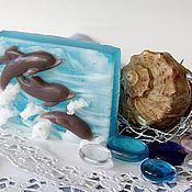 Косметика ручной работы handmade. Livemaster - original item Handmade soap Dreams about the sea Gift Souvenir on the sea. Handmade.