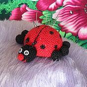 Куклы и игрушки handmade. Livemaster - original item Pincushion ladybug. Handmade.