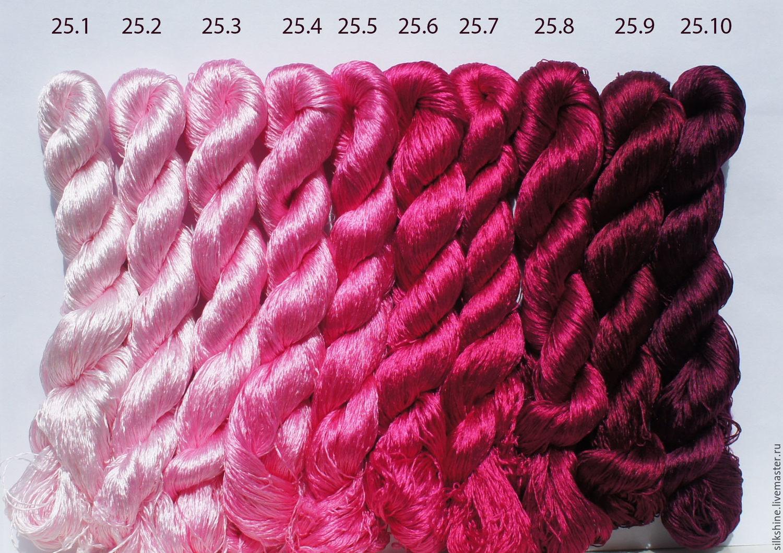 Шелковые нитки для вышивания 48