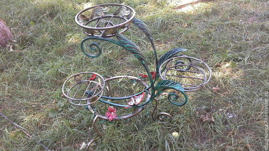 Подставки под цветы ручной работы. Ярмарка Мастеров - ручная работа. Купить Подставка для цветов. Handmade. Подставка для цветов