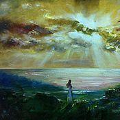 Картины и панно handmade. Livemaster - original item Oil painting - the Wife of Odysseus. Handmade.