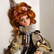 Куклы и игрушки ручной работы. Ярмарка Мастеров - ручная работа Джиа. Будуарная кукла. Handmade.