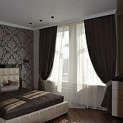 Для дома и интерьера ручной работы. Ярмарка Мастеров - ручная работа Шторы на заказ для спальни (5). Handmade.