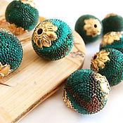Материалы для творчества handmade. Livemaster - original item Beads, Indonesia clay inlay glass beads. Handmade.