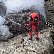 Куклы и игрушки handmade. Livemaster - original item Deadpool. Handmade.
