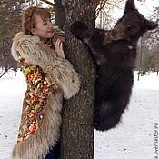 """Одежда ручной работы. Ярмарка Мастеров - ручная работа Зимнее пальто """"Машенька и медведи"""".. Handmade."""