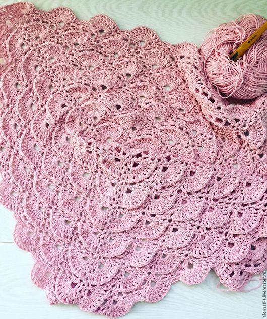"""Пледы и одеяла ручной работы. Ярмарка Мастеров - ручная работа. Купить Детский плед """"Розовые мечты"""". Handmade. Комбинированный, плед"""