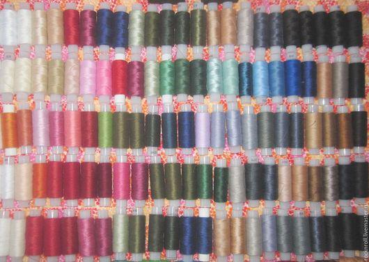 """Шитье ручной работы. Ярмарка Мастеров - ручная работа. Купить Набор швейных ниток """"На все руки"""". 200 катушек.. Handmade."""