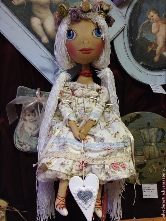 Человечки ручной работы. Ярмарка Мастеров - ручная работа. Купить Кукла Иванка. Handmade. Бежевый, интерьерная кукла, подарки к праздникам