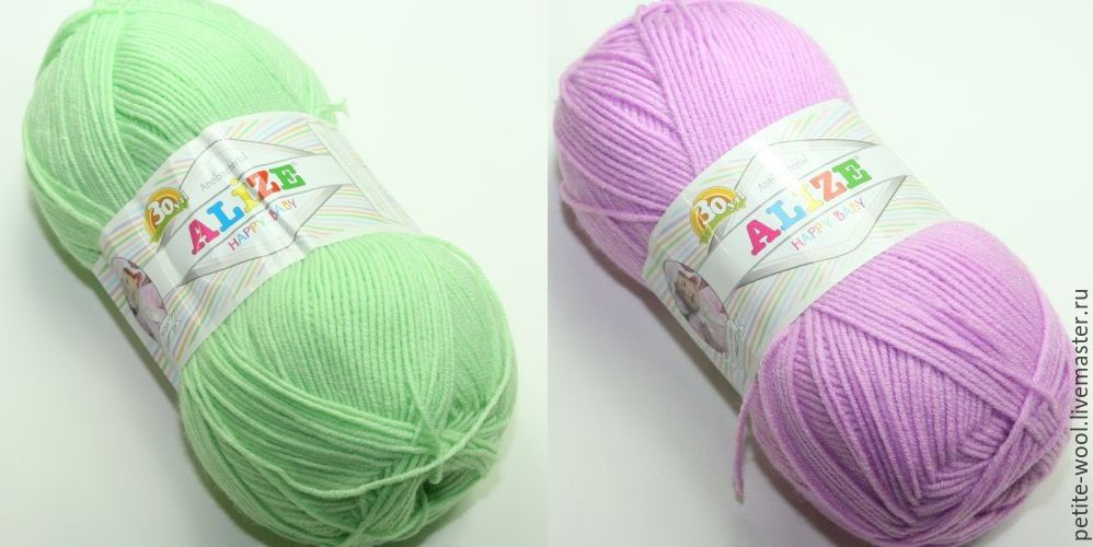 Детские нитки для вязание