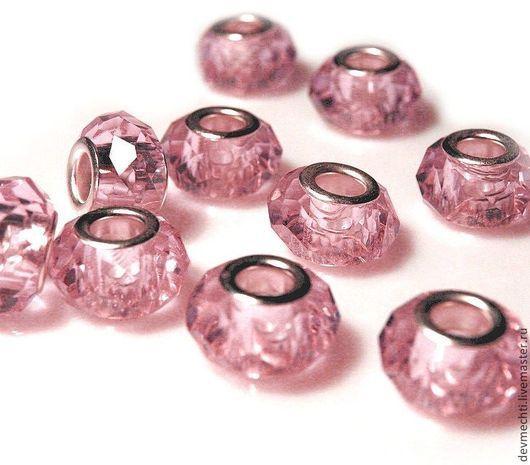 9Х14 мм, отверстие 5 мм\r\nЦвет: розовый\r\nПри заказе указывайте количество и цвет!!!