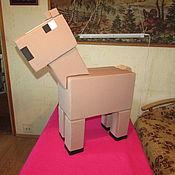 Куклы и игрушки ручной работы. Ярмарка Мастеров - ручная работа Моб Лошадь Майнкрафт Реквизит для аниматора. Handmade.