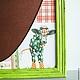 """Кухня ручной работы. Грифельная доска """"Яблочко"""". Интерьерный уголок (Анна и Дмитрий). Ярмарка Мастеров. Доска для записей, корова, салатовый"""