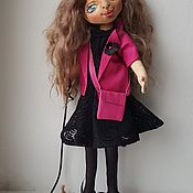 Будуарная кукла ручной работы. Ярмарка Мастеров - ручная работа Будуарная кукла: текстильная кукла Мария. Handmade.