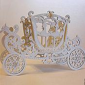 Свадебный салон ручной работы. Ярмарка Мастеров - ручная работа Свадебная карета. Handmade.