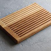 Посуда handmade. Livemaster - original item Bread Cutting Board. Handmade.