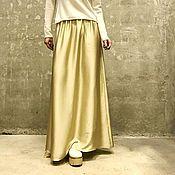 Одежда ручной работы. Ярмарка Мастеров - ручная работа Юбка женская из вискозного шелка MILI. Handmade.