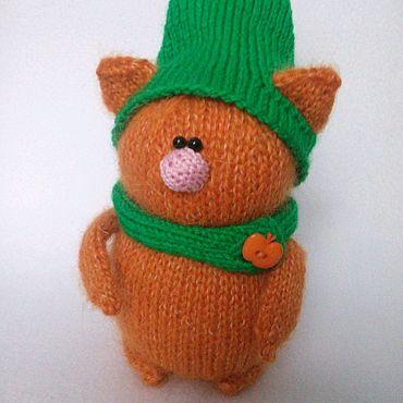 Куклы и игрушки ручной работы. Ярмарка Мастеров - ручная работа Рыжий солнечный котик. Handmade.