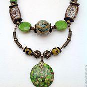 Украшения handmade. Livemaster - original item Necklaces, ethnic beads made from natural materials the Amazon Jungle.. Handmade.