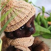 Куклы и игрушки handmade. Livemaster - original item Matveyka. Mink bear with felted face. Handmade.