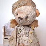 Куклы и игрушки ручной работы. Ярмарка Мастеров - ручная работа Матильда - Мотя мишка тедди. Handmade.