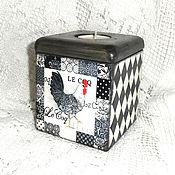 Для дома и интерьера handmade. Livemaster - original item Candle holder-box of Cock.. Handmade.