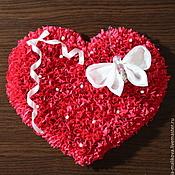 Сувениры и подарки ручной работы. Ярмарка Мастеров - ручная работа Сердце-магнит на холодильник. Handmade.
