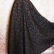 Одежда ручной работы. Ярмарка Мастеров - ручная работа Юбка р.44,длинная,полусолнце. Handmade.