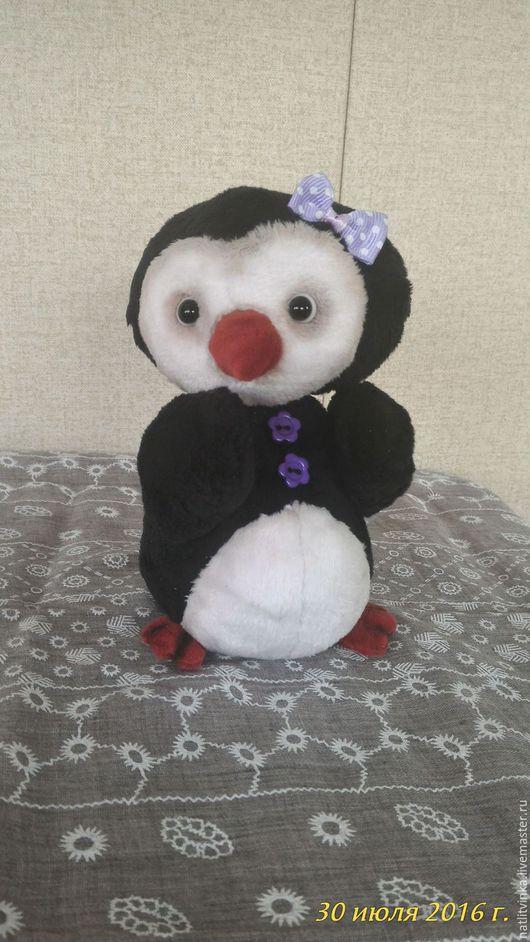 Мишки Тедди ручной работы. Ярмарка Мастеров - ручная работа. Купить Пингвиненок Лилу. Handmade. Черный, друзья мишек тедди