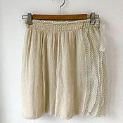 Одежда handmade. Livemaster - original item The skirt is silk and Angora. My gentle warm option.. Handmade.