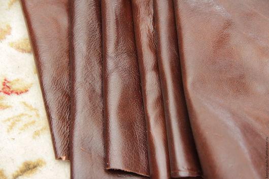 Шитье ручной работы. Ярмарка Мастеров - ручная работа. Купить № 6.9 Коньячный 1014 грамм.1мм.Натуральная кожа. Handmade.