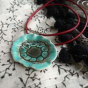 """Украшения ручной работы. Ярмарка Мастеров - ручная работа """"Игра слов"""", подвеска, керамика ручной работы. Handmade."""