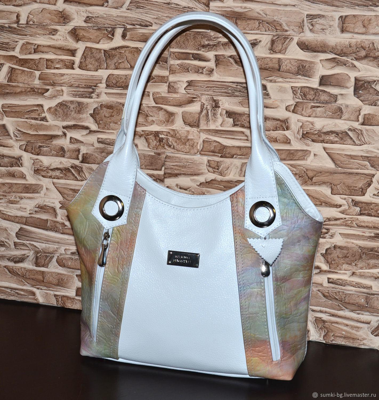 Модель 402 Сумка из натуральной кожи на каждый день, Классическая сумка, Богородск,  Фото №1