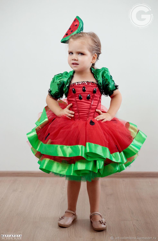 платье для арбузной фотосессии сам