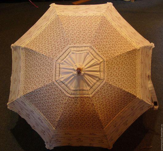 """Зонты ручной работы. Ярмарка Мастеров - ручная работа. Купить Зонт от солнца """"Кантри"""". Handmade. Зонт от солнца, хлопок, хлопок"""