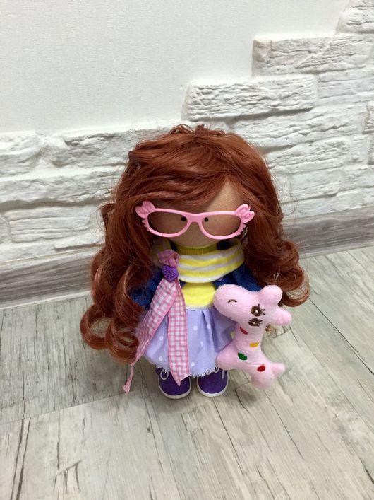 Куклы тыквоголовки ручной работы. Ярмарка Мастеров - ручная работа. Купить Интерьерная кукла ручной работы. Handmade. текстильная кукла