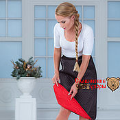 Одежда handmade. Livemaster - original item Skirt polyester two-way. Handmade.