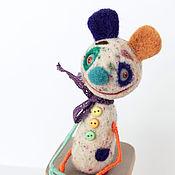 """Куклы и игрушки ручной работы. Ярмарка Мастеров - ручная работа войлочная игрушка """"Клоун Мими"""". Handmade."""