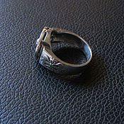 Украшения ручной работы. Ярмарка Мастеров - ручная работа кольцо с рубином. Handmade.